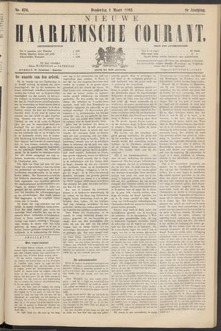 Nieuwe Haarlemsche Courant 1883-03-01