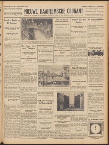 Nieuwe Haarlemsche Courant 1939-02-19