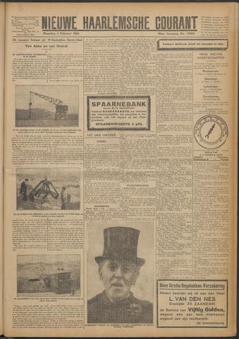 Nieuwe Haarlemsche Courant 1924-02-04