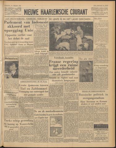 Nieuwe Haarlemsche Courant 1956-02-29
