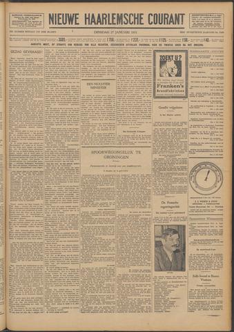 Nieuwe Haarlemsche Courant 1931-01-27