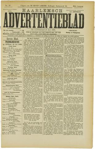 Haarlemsch Advertentieblad 1889-07-27