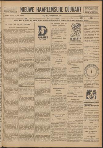 Nieuwe Haarlemsche Courant 1931-12-04