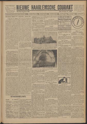 Nieuwe Haarlemsche Courant 1925-02-16