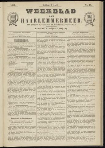 Weekblad van Haarlemmermeer 1880-04-09