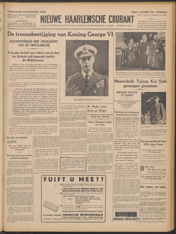 Nieuwe Haarlemsche Courant 1936-12-13