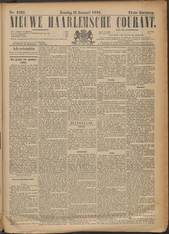 Nieuwe Haarlemsche Courant 1896-01-12
