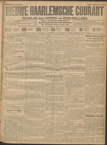 Nieuwe Haarlemsche Courant 1914-07-22