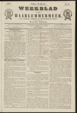 Weekblad van Haarlemmermeer 1872-01-12