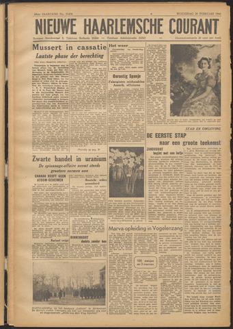 Nieuwe Haarlemsche Courant 1946-02-20