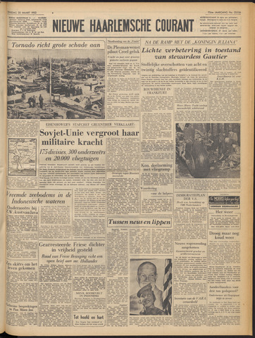 Nieuwe Haarlemsche Courant 1952-03-25