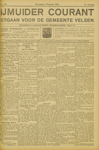 IJmuider Courant 1916-12-06