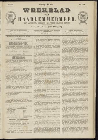Weekblad van Haarlemmermeer 1882-05-19