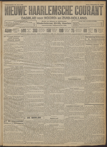 Nieuwe Haarlemsche Courant 1915-07-29