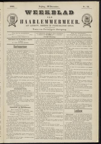 Weekblad van Haarlemmermeer 1881-12-30