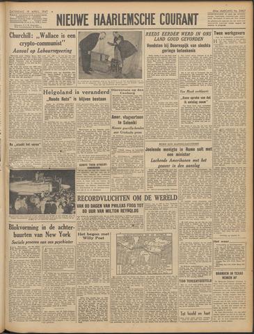 Nieuwe Haarlemsche Courant 1947-04-19