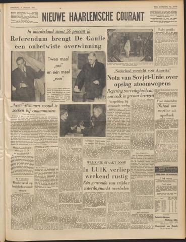 Nieuwe Haarlemsche Courant 1961-01-09