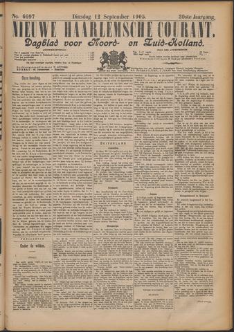 Nieuwe Haarlemsche Courant 1905-09-12