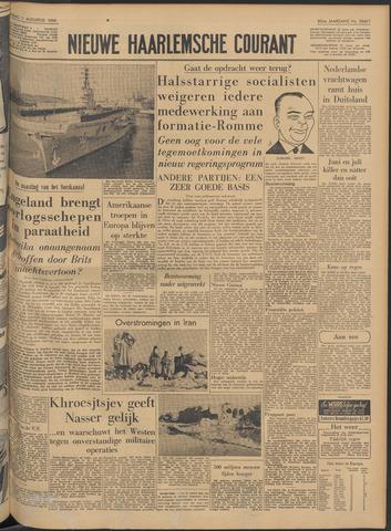 Nieuwe Haarlemsche Courant 1956-08-01