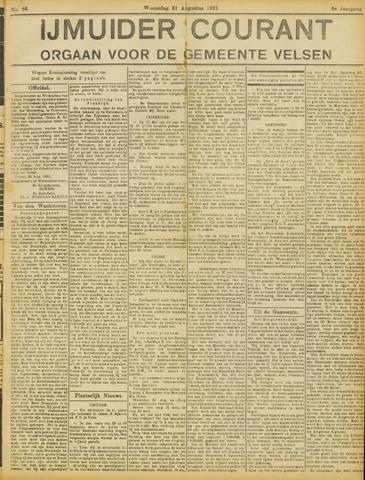IJmuider Courant 1921-08-31