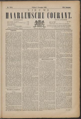 Nieuwe Haarlemsche Courant 1888-11-09