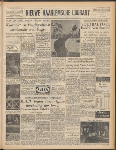 Nieuwe Haarlemsche Courant 1960-09-28