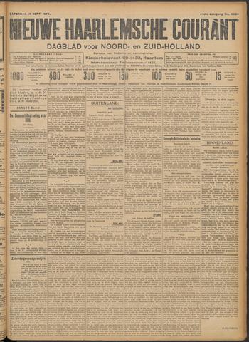 Nieuwe Haarlemsche Courant 1909-09-18