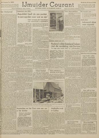 IJmuider Courant 1948-01-22