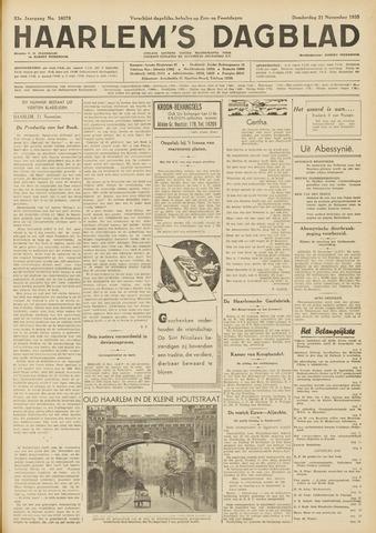 Haarlem's Dagblad 1935-11-21