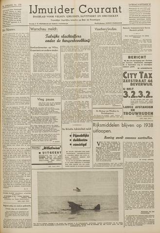 IJmuider Courant 1939-09-16