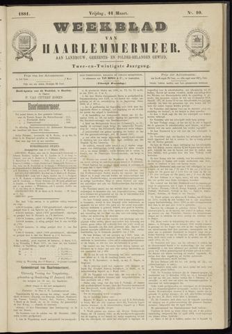Weekblad van Haarlemmermeer 1881-03-11