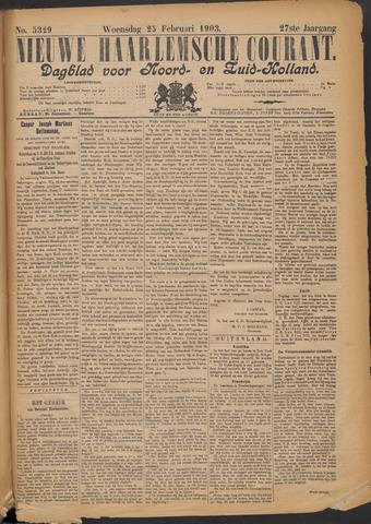 Nieuwe Haarlemsche Courant 1903-02-25