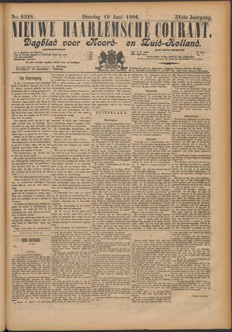 Nieuwe Haarlemsche Courant 1906-06-19