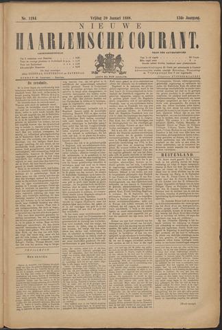 Nieuwe Haarlemsche Courant 1888-01-20