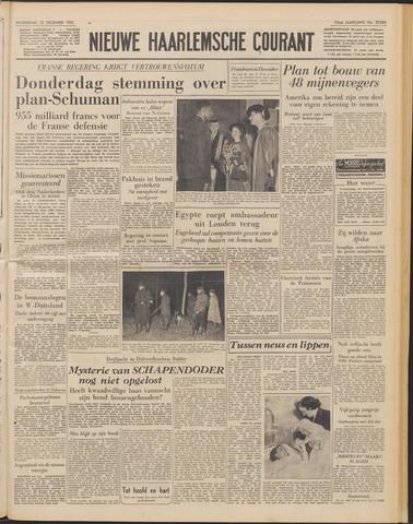Nieuwe Haarlemsche Courant 1951-12-12