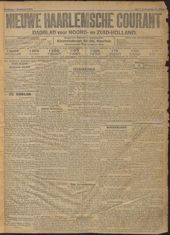Nieuwe Haarlemsche Courant 1915-10-01