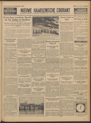 Nieuwe Haarlemsche Courant 1940-05-07