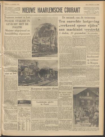 Nieuwe Haarlemsche Courant 1957-08-13