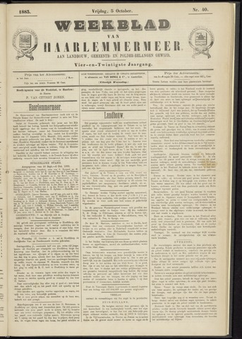 Weekblad van Haarlemmermeer 1883-10-05
