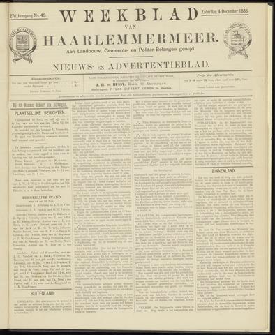 Weekblad van Haarlemmermeer 1886-12-04