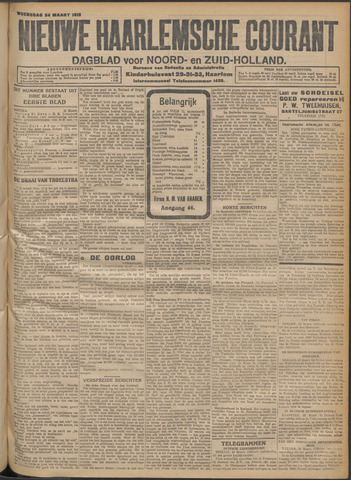 Nieuwe Haarlemsche Courant 1915-03-24