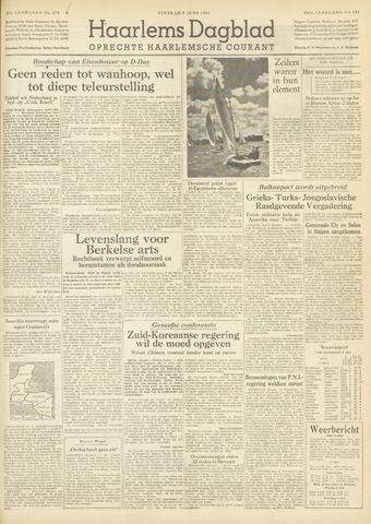Haarlem's Dagblad 1954-06-08