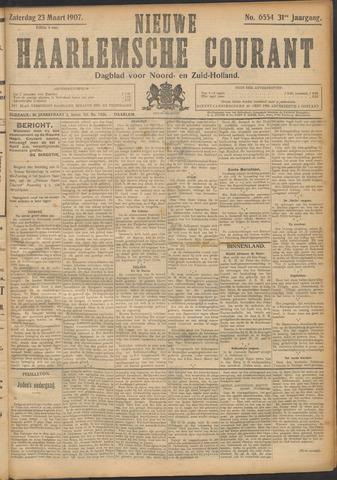 Nieuwe Haarlemsche Courant 1907-03-23