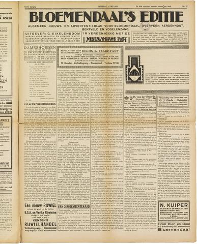 Bloemendaal's Editie 1926-05-22