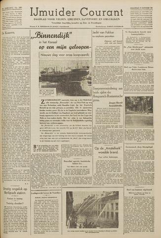 IJmuider Courant 1939-10-09