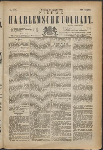 Nieuwe Haarlemsche Courant 1891-09-30