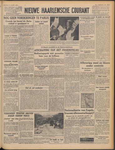 Nieuwe Haarlemsche Courant 1951-03-09