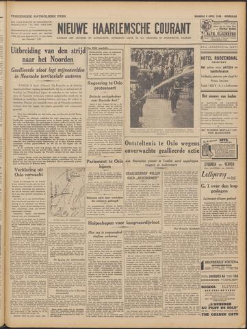 Nieuwe Haarlemsche Courant 1940-04-08
