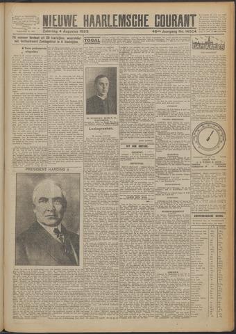 Nieuwe Haarlemsche Courant 1923-08-04