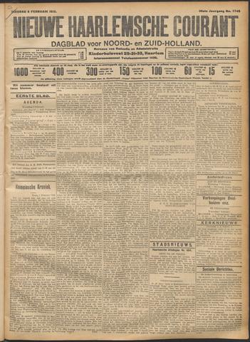 Nieuwe Haarlemsche Courant 1912-02-06
